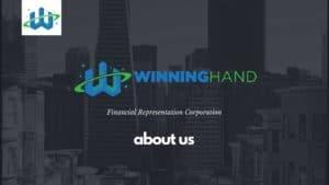 about winning hand financial representation corporation 1